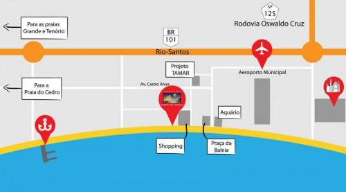 Pousada Porto do Itaguá - Atrações de Ubatuba